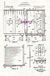 Click here to enlarge image and see more about item PAT0901AA6E: Patent Art: 1910s HOWARD THURSTON Spirit Cabinet
