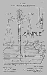 Click here to enlarge image and see more about item PAT0901AA8E: Patent Art: 1900s HORACE GOLDIN Magic Weigh Scales