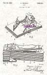 Click here to enlarge image and see more about item PAT0918A1-2006DUG: Patent Art: 1930s Mickey Mouse POP-UP BOOK - Matted