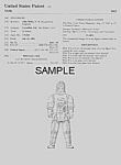 Click here to enlarge image and see more about item PAT0921AA1E: Patent: 1980s STAR WARS Dengar Toy Figure