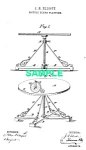 Click here to enlarge image and see more about item PAT0928AA1E: Patent Art: 1880s BICYCLE RIDING PLATFORM