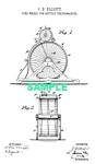 Patent Art: 1880s BICYCLE STUNT APPARATUS