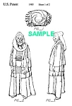 Click here to enlarge image and see more about item PAT1001AA3E: **Patent:80s STAR WARS Bib Fortune Toy Figure
