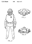 Click here to enlarge image and see more about item PAT1001AA5E: Patent:80s STAR WARS Admiral Ackbar ToyFigure