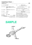 Click here to enlarge image and see more about item PAT1002AA1E: Patent:1980s STAR WARS B-Wing Starfighter Toy