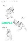 Click here to enlarge image and see more about item PAT1002AA8E: Patent: 1980s STAR WARS Tauntaun Toy Figure