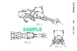 Click here to enlarge image and see more about item PAT1002BB1: Patent: 1980s STAR WARS Speeder Bike Toy