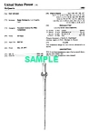 Click here to enlarge image and see more about item PAT1002BB5E: Patent: 1980s STAR WARS McQuarrie Sword (Toy)