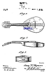 Click here to enlarge image and see more about item PAT1005CC1E: Patent Art: 1910s WEYMANN MANDOLUTE String Instr