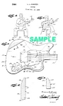 Click here to enlarge image and see more about item PAT1005DD2E: Patent Art: 1960s FENDER Electric Guitar - matted