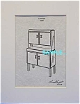 Patent Art: 1930s RUSSEL WRIGHT Buffet - Matted Print