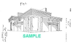 Click here to enlarge image and see more about item PAT1012BB5X: Patent Art: 1930s FRANK LLOYD WRIGHT Dwelling - Matted