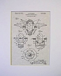 Click here to enlarge image and see more about item PAT1012CC3E: Patent Art: 1930s MATCHLESS STAR Christmas Light-Matted
