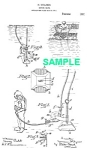 Click here to enlarge image and see more about item PAT1018AA3E: Patent Art: 1910s DIVING SUIT - Matted Print