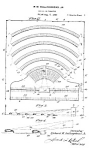 Click here to enlarge image and see more about item PAT1020AA2E: Patent Art: 1933 First DRIVE-IN THEATER - matted print