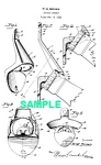 Patent Art: 1940s FAMOUS BOTTLE OPENER - matted
