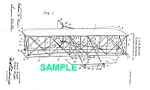 Click here to enlarge image and see more about item PAT1025BB9E: Patent Art: 1906 WRIGHT BROTHERS Aircraft - Matted