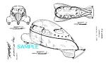 Click here to enlarge image and see more about item PAT1104B4: Patent Art: 1930s Streamlined AIROMOBILE Prototype