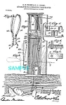 Click here to enlarge image and see more about item PAT1109D4: Patent Art: Early 1900s  SIGNAL FROM GRAVE/Buried Alive