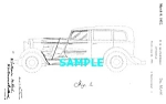 Patent Art: 1932 HUPMOBILE AUTOMOBILE - matted