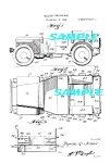 Click here to enlarge image and see more about item PAT1115AA01: Patent Art: 1942 MILITARY WILLYS JEEP - WWII