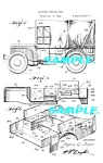 Click here to enlarge image and see more about item PAT1115AA02: Patent Art 2: 1942 MILITARY WILLYS JEEP - WWII