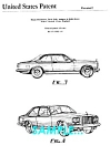 Click to view larger image of Patent Art: 1975 ROLLS-ROYCE CAMARGUE AUTOMOBILE (Image1)