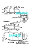 Click here to enlarge image and see more about item PAT1127AA8: Patent Art: Pre-War CROSLEY CONVERTIBLE AND COVERED WAG