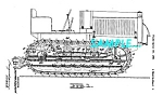 Patent Art: 1935 CATERPILLAR TRACTOR - matted