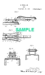 Click here to enlarge image and see more about item PAT1220AA5E: Patent Art: 1923 HARLEY DAVIDSON Motorcycle Seat