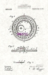 Patent Art: 1910s Blaikley OUIJA BOARD  - matted