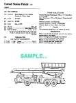 Click here to enlarge image and see more about item PAT1221AA1: Patent Art: 1970s TONKA SNORKEL PUMPER Firetruck