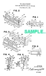 Click here to enlarge image and see more about item PAT1221AA4: Patent Art: 1960s BUDDY L Toy PICKUP TRUCK