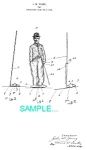 Click here to enlarge image and see more about item PAT1225BB4: Patent Art: 1910s CHARLIE CHAPLIN - matted**