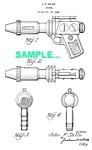 Click here to enlarge image and see more about item PAT1227AA7: Patent Art: 1940s BUCK ROGERS Sonic RAY GUN