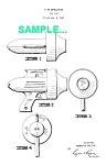 Click here to enlarge image and see more about item PAT1227BB1: Patent Art: 1940s FLASH GORDON Air Blaster RAY GUN