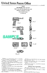 Click here to enlarge image and see more about item PAT1228AA2: Patent: 1960s  AGENT ZERO M Toy Camera Gun