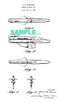 Click here to enlarge image and see more about item PAT1228AA5: Patent Art: 1950s Kenner BUB-L-ROCKET Toy Gun