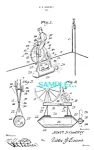 Click here to enlarge image and see more about item PAT1228AB12: Patent Art: 1910s Early TOY BICYCLE - matted