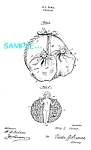 Click here to enlarge image and see more about item PAT1228AB18: Patent Art: 1920s Sewing DOLL PIN CUSHION