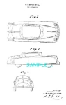Click here to enlarge image and see more about item PAT1228AB21: Patent Art: 1950s ARCHER PLASTIC Toy Car C