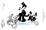 Patent Art: 1920s FELIX THE CAT TOY - Matted Print