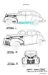 Patent Art: 1939 DODGE AUTOMOBILE