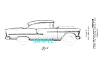 Click here to enlarge image and see more about item PAT207B2: Patent Art: 1955 Chevy CHEVROLET BEL AIR AUTOMOBILE