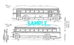 Patent Art: 1930s TRAVEL BUS DESIGN - Matted Print