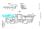 Click here to enlarge image and see more about item PAT807A1: Patent Art: AMPHICAR PROTOTYPE - matted
