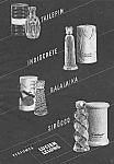Click here to enlarge image and see more about item PER0614AA3: 1942 Lucien Lelong PERFUME BOTTLES Ad