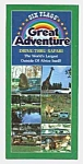 Click here to enlarge image and see more about item PL0525AA2: 1979 GREAT ADVENTURE Drive-Thru Safari BROCHURE
