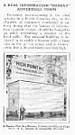 1927 HIGH POINT, NC Giant Bureau Mag. Article