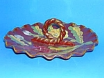 Click here to enlarge image and see more about item POT0514BB1: Vintage Italian POTTERY Bon Bon Dish